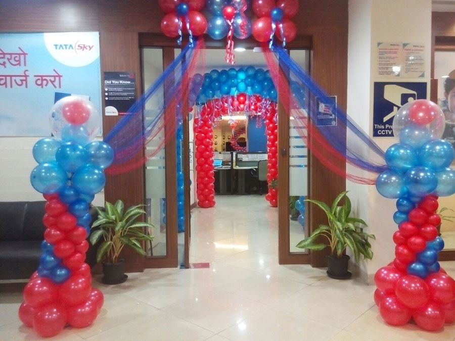 Photogallery balloon decorators in mumbai balloon for Balloon decoration in mumbai
